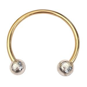 KATE SPADE • Two-tone Saturday Cuff Bracelet